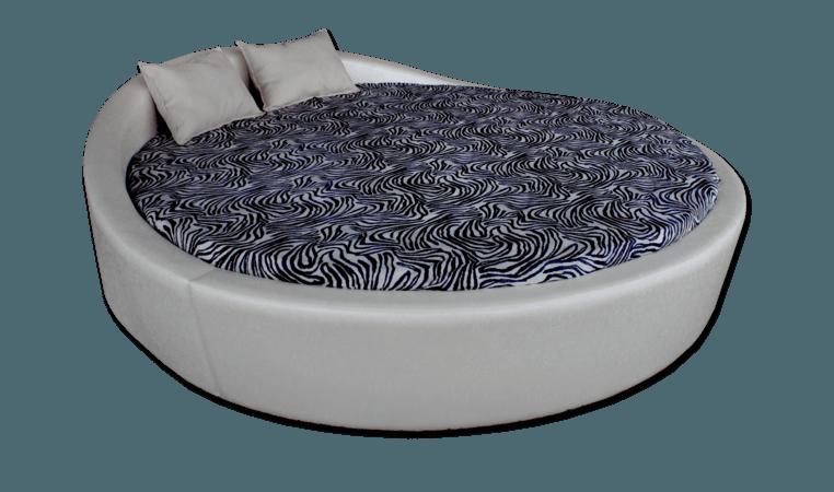 Кръгло легло Венеция мебели Камбо