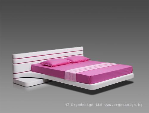 Тапицирана спалня Виола мебели Ергодизайн