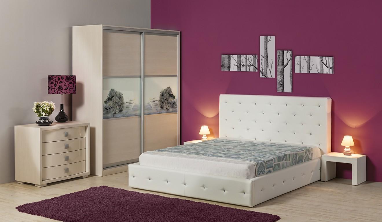 Тапицирано легло Венеция Прайм