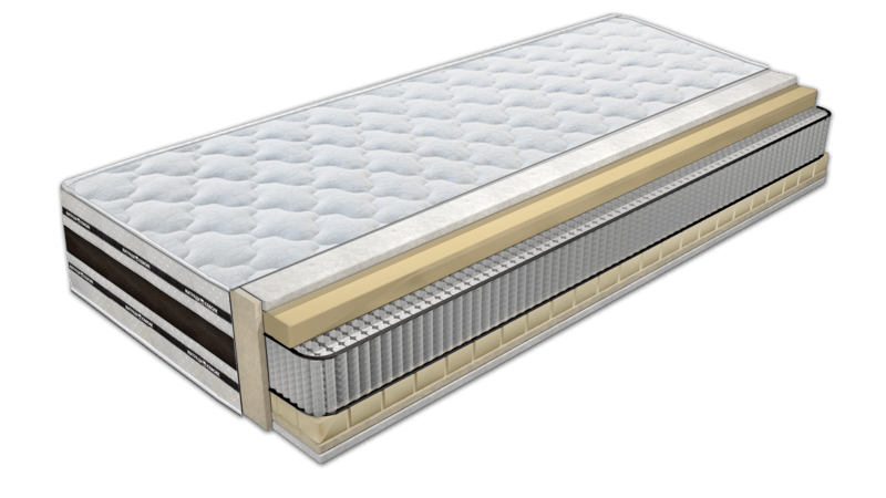 Mattresses with latex / Memory Cristal