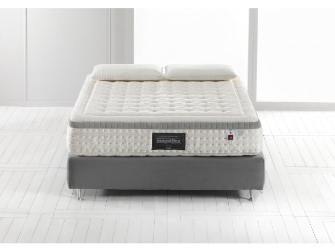 Луксозен матрак Magniflex  – Diamante Dual Memory Foam HD®,Gel Foam®,Eliosoft®,Elioform®,Outlast®