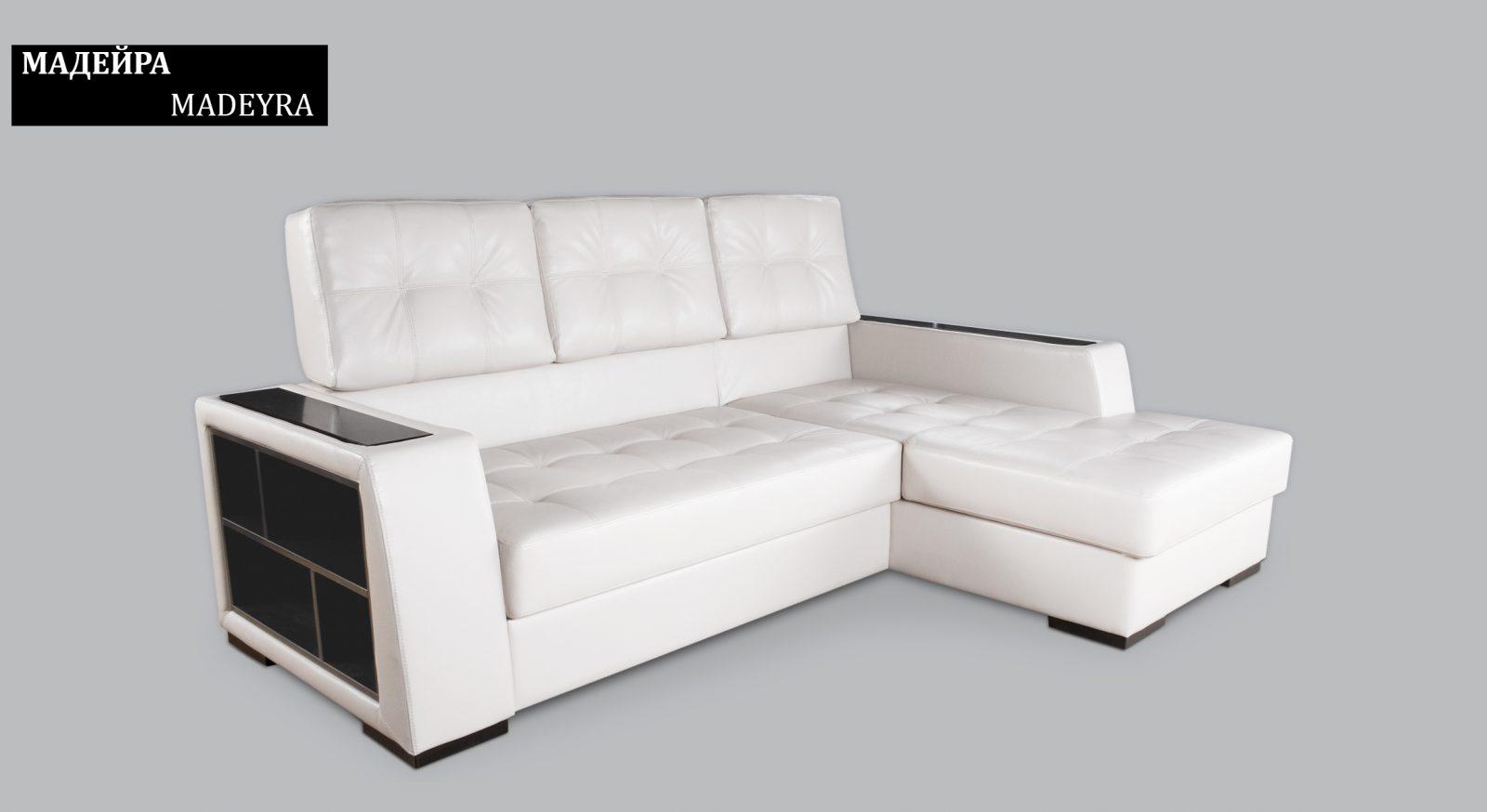 "(Български) Ъглов диван ""Мадейра"" –  Луксозни дивани Руди-Ан"