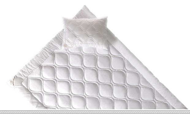 Завивка Happy Dreams Aloe Vera Therapy White Boutique Microfiber